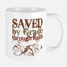Saved by Grace Small Small Mug