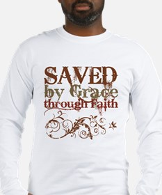 Saved by Grace Long Sleeve T-Shirt