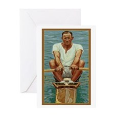 The Rower Greeting Card