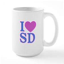 I Love SD Mug