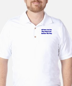 All Work And No Play T-Shirt