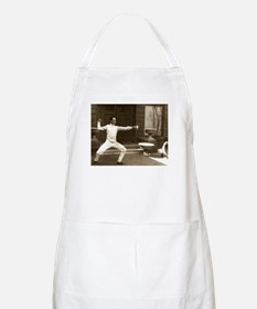 Epee Fencers Fencing BBQ Apron