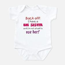 Have a big sister Onesie