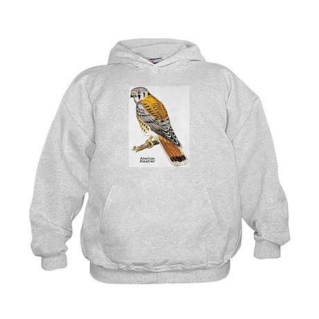 American Kestrel Bird (Front) Kids Hoodie