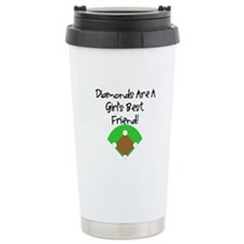Diamonds Travel Coffee Mug