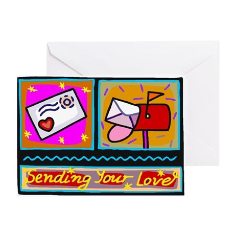 Sending Your Love Greeting Cards (Pk of 20)