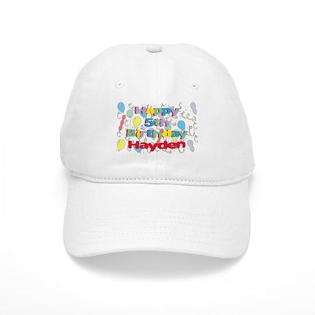 Hayden's 5th Birthday Cap