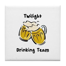 Drinking Team Twilight Tile Coaster