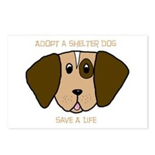Adopt a Dog Postcards (Package of 8)