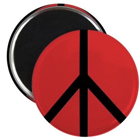 "Peace Symbol 2.25"" Magnet (100 pack)"