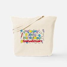 Sebastian's 6th Birthday Tote Bag