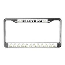Sealyham Terrier Good Life License Plate Frame