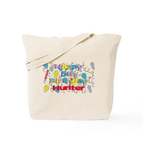 Hunter's 5th Birthday Tote Bag