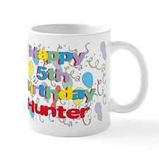 Hunter's 5th Birthday Mug