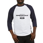 Importantville Athletic Gear Baseball Jersey