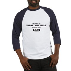 Importantville Athletic Gear Baseball Jersey