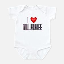 Milwaukee Infant Bodysuit