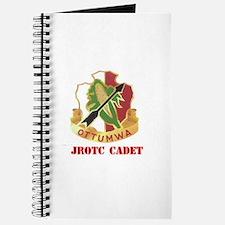 Unit Crest Cadet Journal