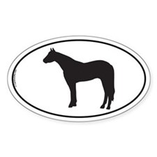 Appaloosa Oval Decal