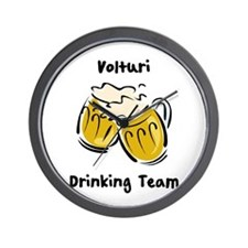 Drinking Team Volturi Wall Clock