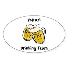 Drinking Team Volturi Oval Decal