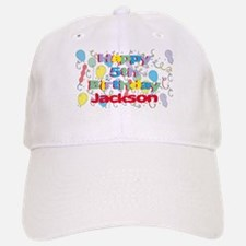 Jackson's 5th Birthday Baseball Baseball Cap