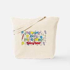 Skyler's 6th Birthday Tote Bag