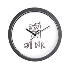 Oink Wall Clock