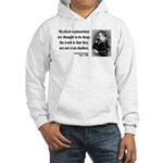 Nietzsche 29 Hooded Sweatshirt