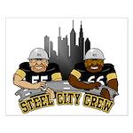 Steel City Crew Small Poster