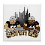Steel City Crew Tile Coaster