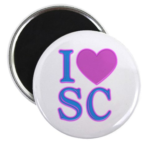 "I Love SC 2.25"" Magnet (10 pack)"