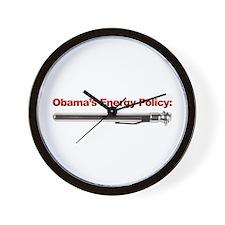 Obama's Energy Plan Wall Clock