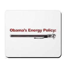 Obama's Energy Plan Mousepad