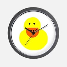 Teacher duck Wall Clock