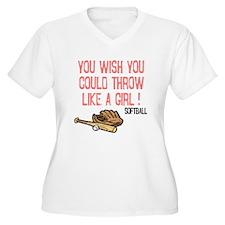 Throw Like a Girl T-Shirt