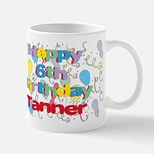 Tanner's 6th Birthday Mug