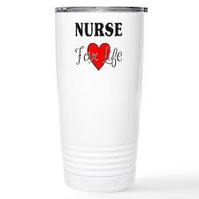 Nurse For Life Travel Mug
