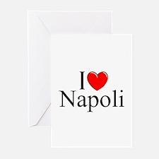"""I Love (Heart) Napoli"" Greeting Cards (Pk of 10)"