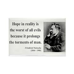 Nietzsche 31 Rectangle Magnet
