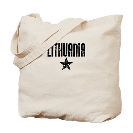 Lithuania Star Tote Bag
