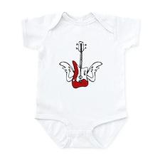 Winged Guitar Infant Bodysuit