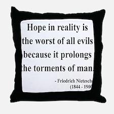 Nietzsche 31 Throw Pillow
