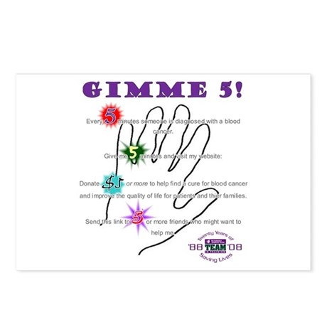 gimme 5 Postcards (Package of 8)