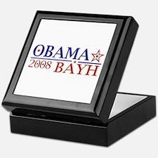 Obama Bayh 08 Keepsake Box