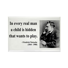 Nietzsche 32 Rectangle Magnet (10 pack)