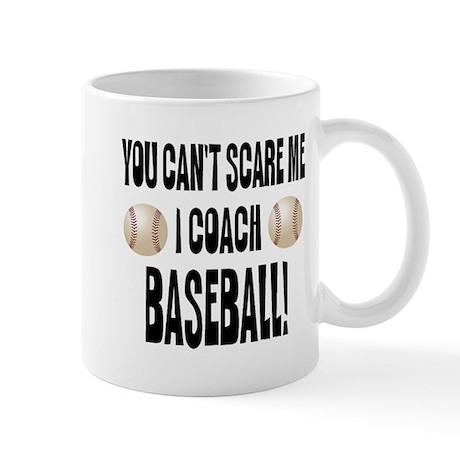 I Coach Baseball Mug