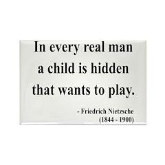 Nietzsche 32 Rectangle Magnet (100 pack)