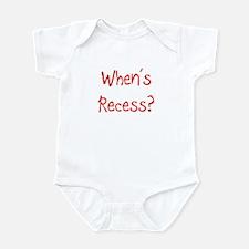 Recess Infant Bodysuit