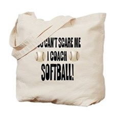 I Coach Softball Tote Bag